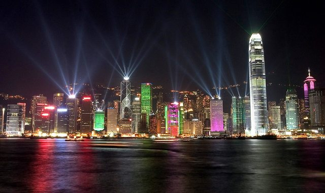 hong kong skyline beautiful