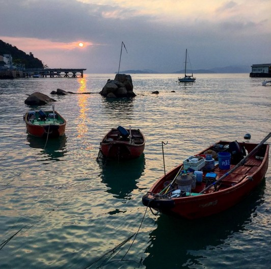 fisherfolk village lamma island
