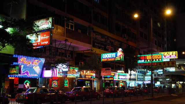Wanchai bars- Lockhart Road