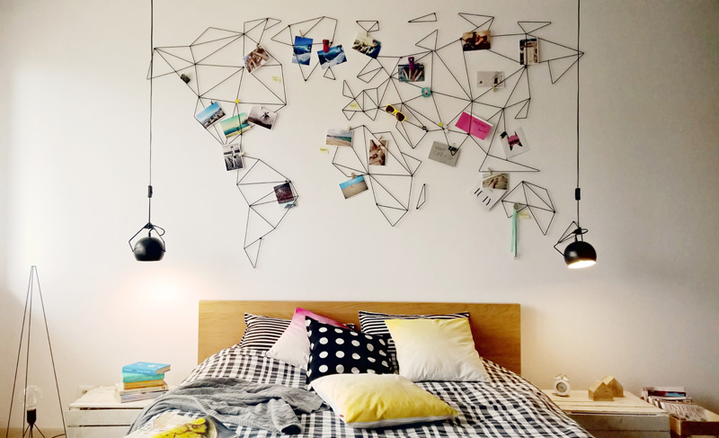 One of the more difficult but fun ideas Photo credit: homedit pinterest