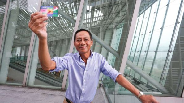 One of the brains behind the Hong Kong Octopus card