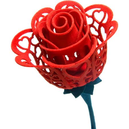 3D printed rose is as enchanting as real roses! Image from Pinterest.