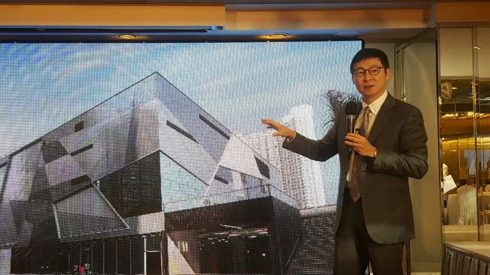 The developer said there would be different cuisines in the new mall in Ma On Shan.
