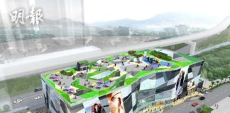 """""""We Go Mall"""" in Ma On Shan is conceived to be like this."""