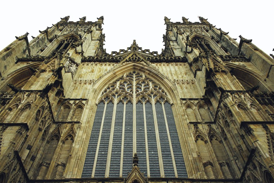 York Minster, one of the biggest cathedrals in Northern Europ
