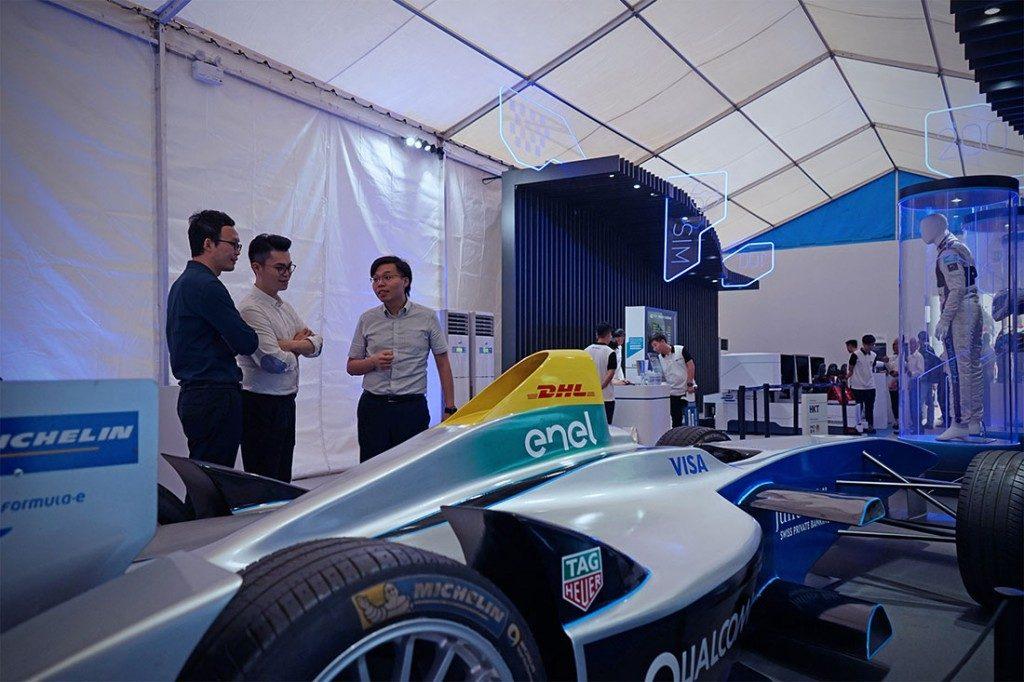 國際汽聯電動方程式錦標賽是全球首個全電驅賽事。圖片來源:HK Formula E。