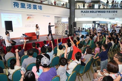 香港金閱獎節目包括書展、作家講座及展覽等。圖片來源:香港金閱獎。