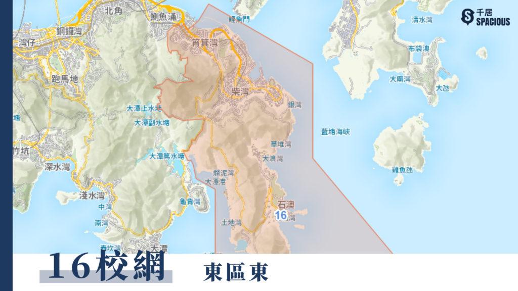 16校網地圖