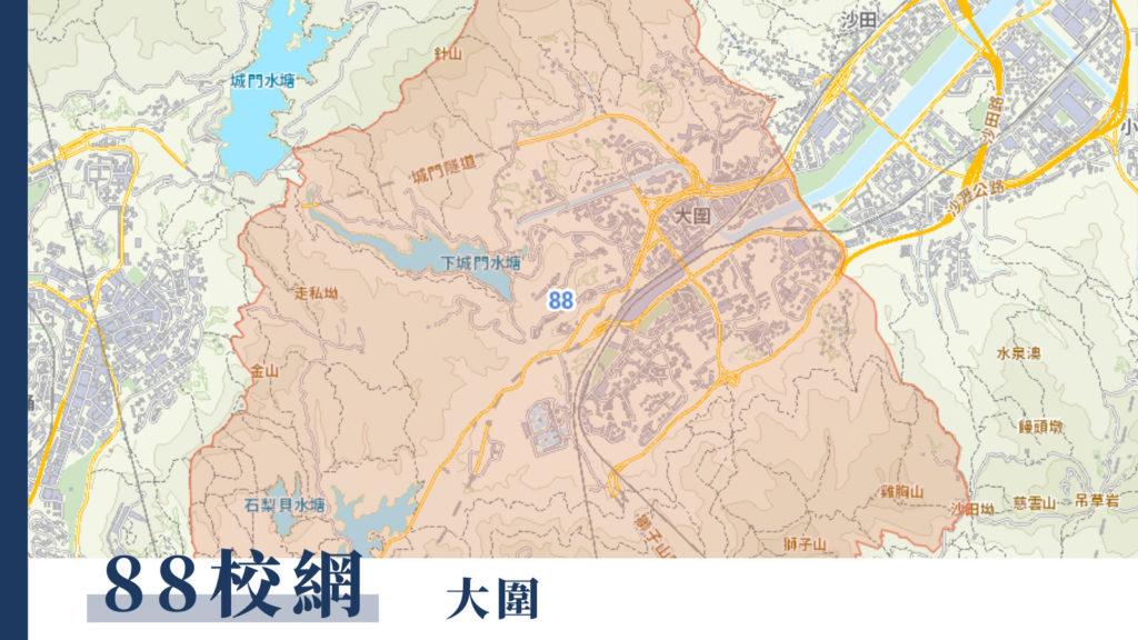 88校網地圖