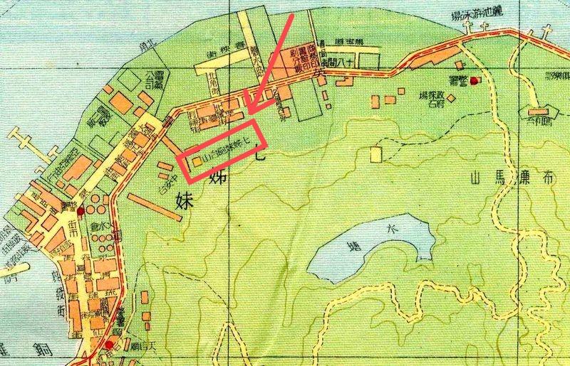 香港地圖-七姊妹砲台山