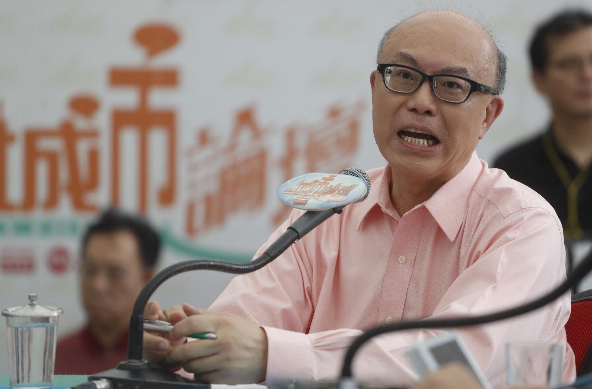 華懋現任CEO蔡宏興