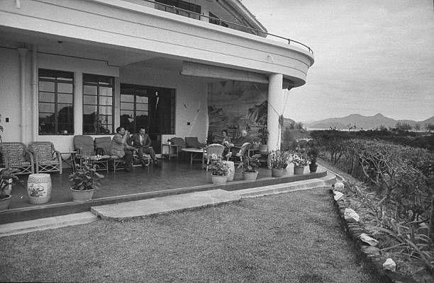 會德豐創辦人George Marden於石澳故居的生活照