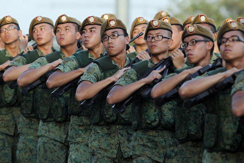 新加坡移民-兵役