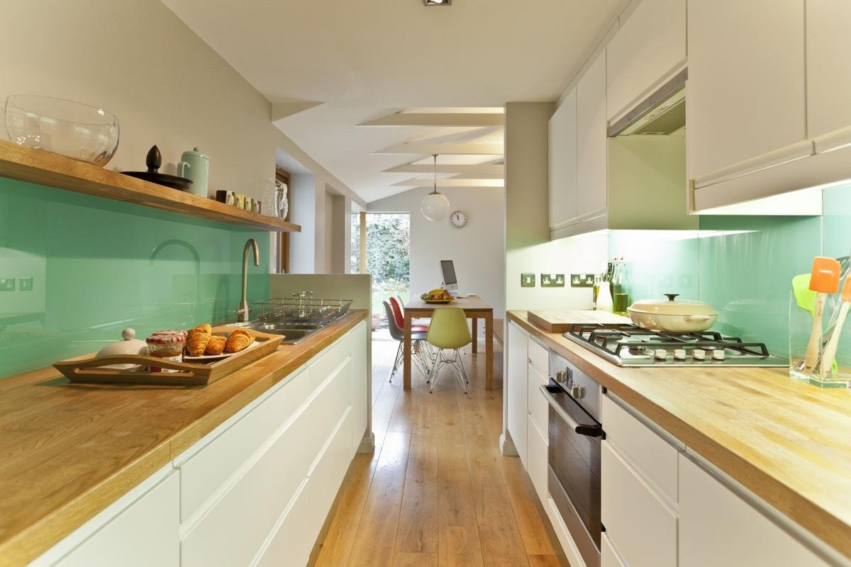 二字型廚房