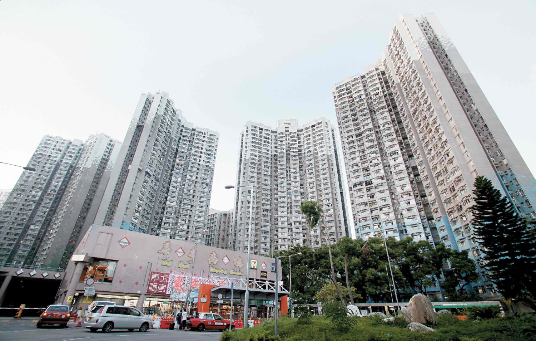 租置計劃下的香港仔華貴邨