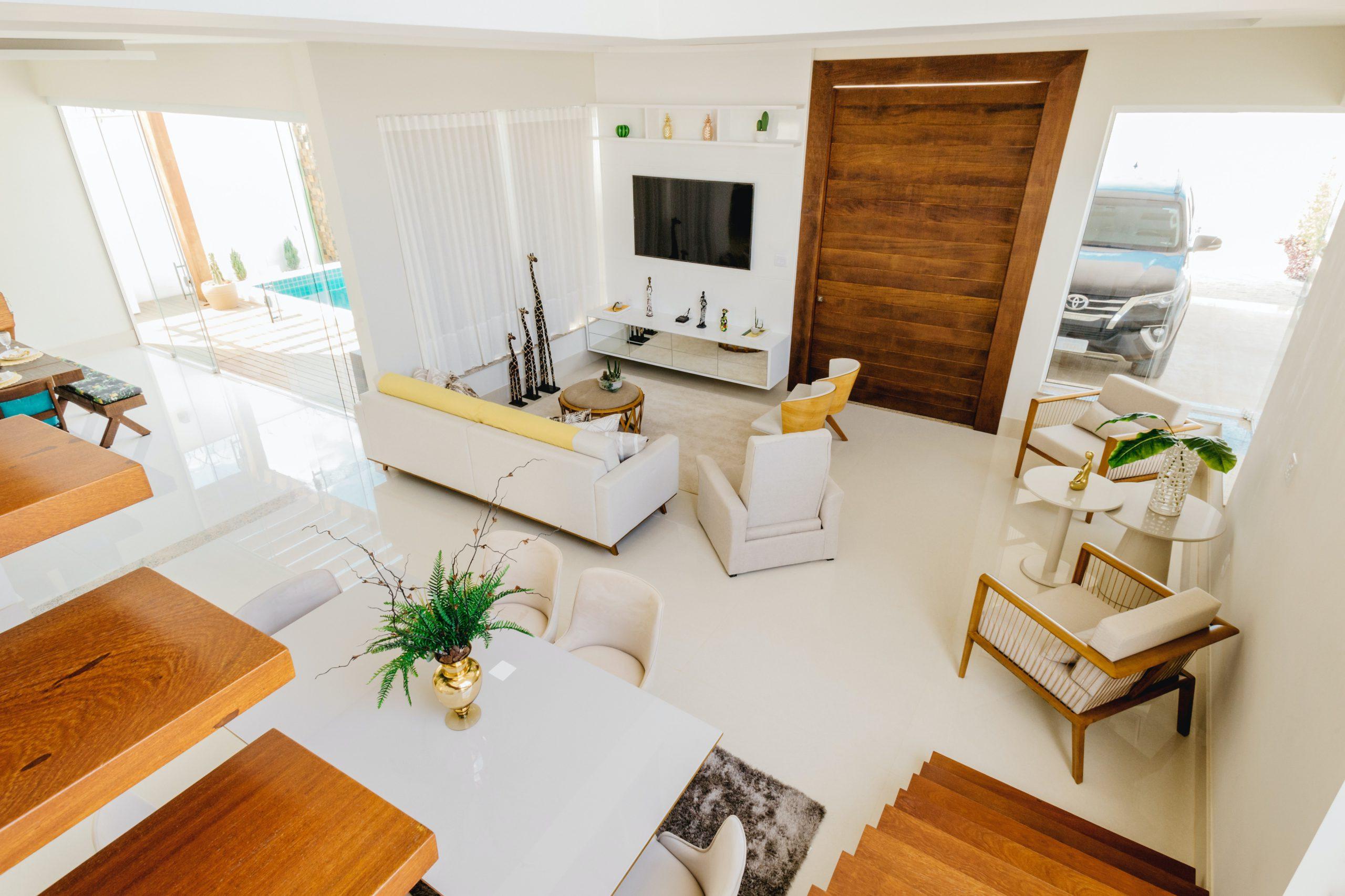 淺色、大地色元素客廳